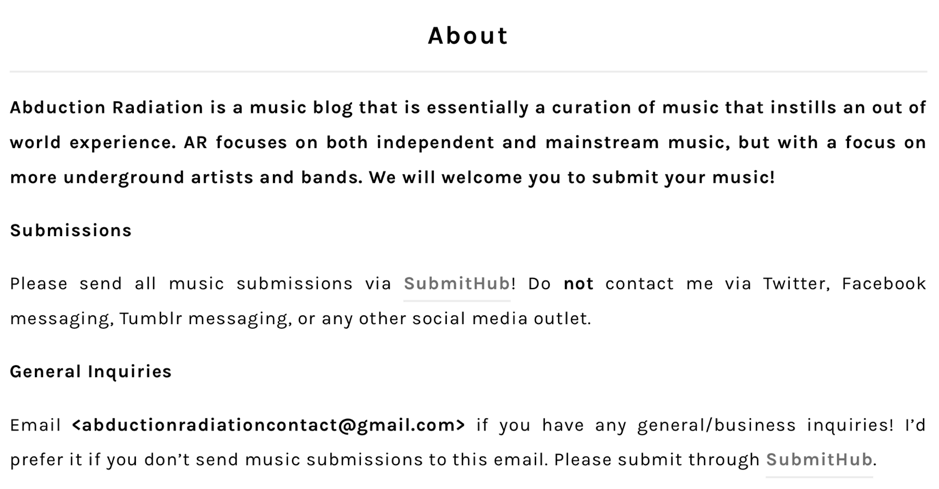 Submit Your Music To 222 Amazing Music Blogs (2019 Update) - SongFlag