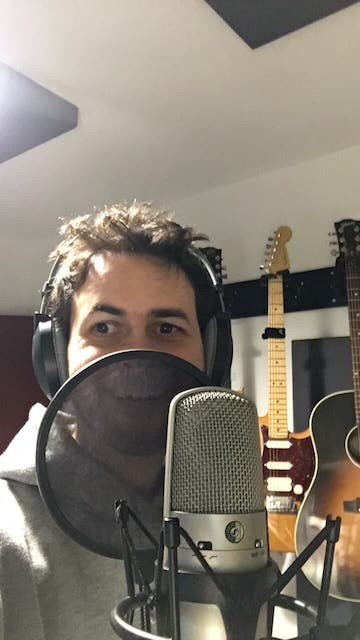 eldad recording song